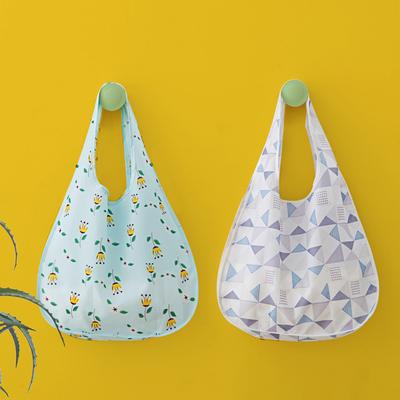 折叠购物袋便携超市环保袋买菜包大容量手提袋子简约购物袋女防水