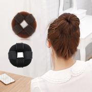 日系自粘款甜甜圈头发器蓬蓬垫发盘发器丸子头长发变短发美发工具