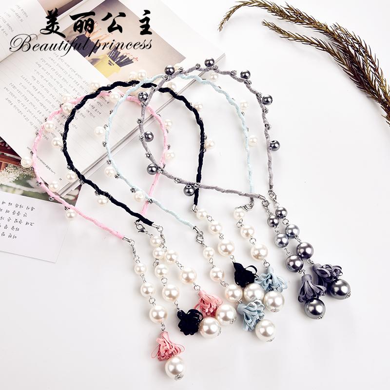 时尚珍珠发箍