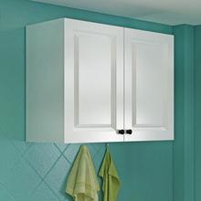 还阁厨房吊柜壁柜阳台储物柜浴室挂柜欧式门阳台置物橱柜定做定制