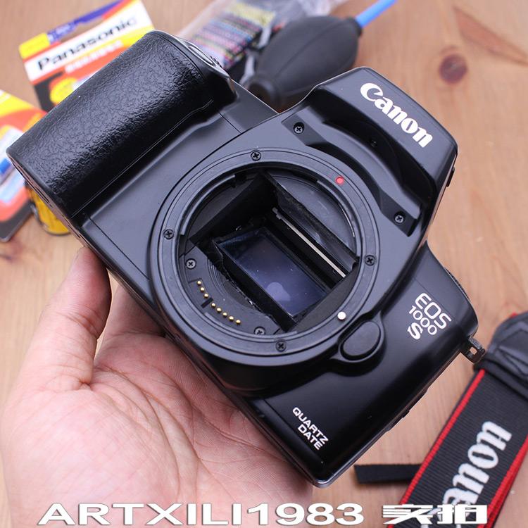 809B 佳能EOS 1000s QD自动胶卷胶片机故障单反相机 配件摆设道具