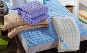 可水洗床垫褥子棉花床上铺被折叠棉垫子铺垫防滑席梦思褥子床垫睡
