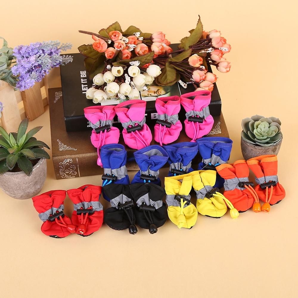 包邮宠物狗狗鞋子 泰迪比熊透气软底鞋 反光防滑春夏款室内鞋套图片