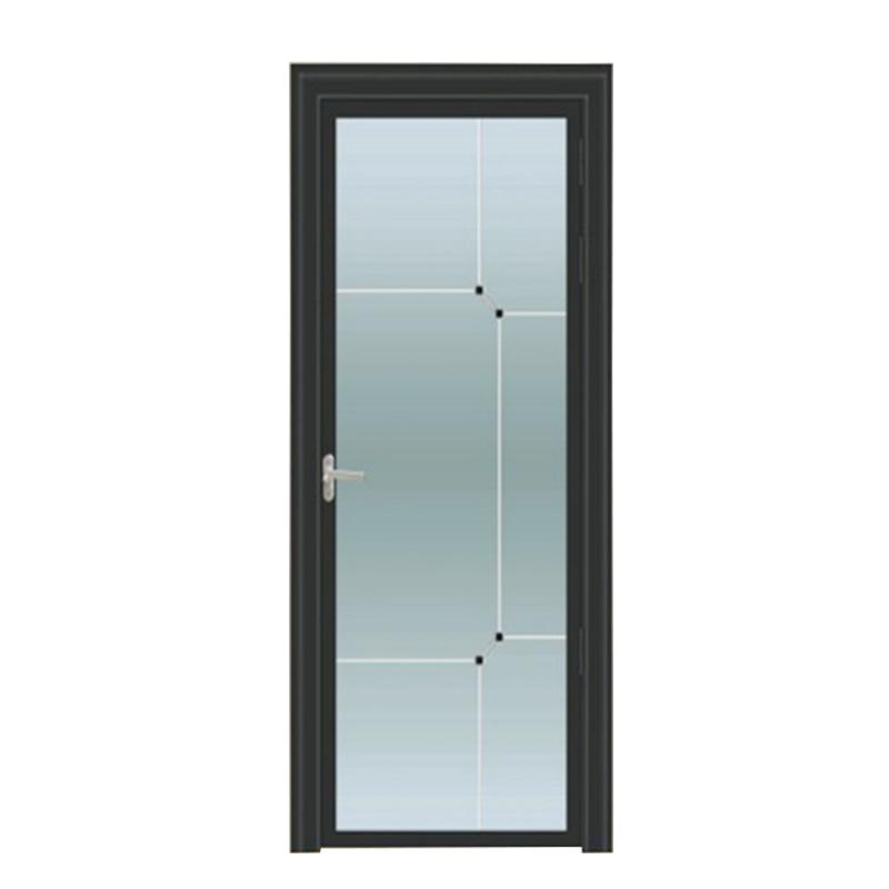 室内定制铝镁钛合金侧所门厨房门卫生间门卫浴门双层钢化玻璃门