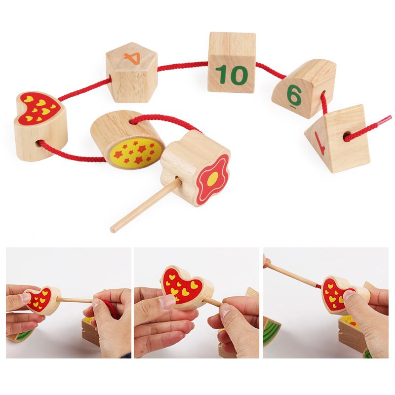 儿童积木1-2-3岁男孩女宝宝六面盒认知形状配对智慧屋益智玩具4-6
