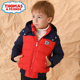 Thomas children's wear boys spring and autumn wear 2019 new casual coat cold baby warm down jacket