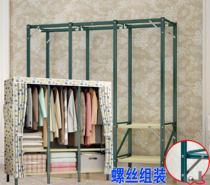 经济型出租房简易单人硬板松1.2现代简约1.5m米架子1.8床实木双人