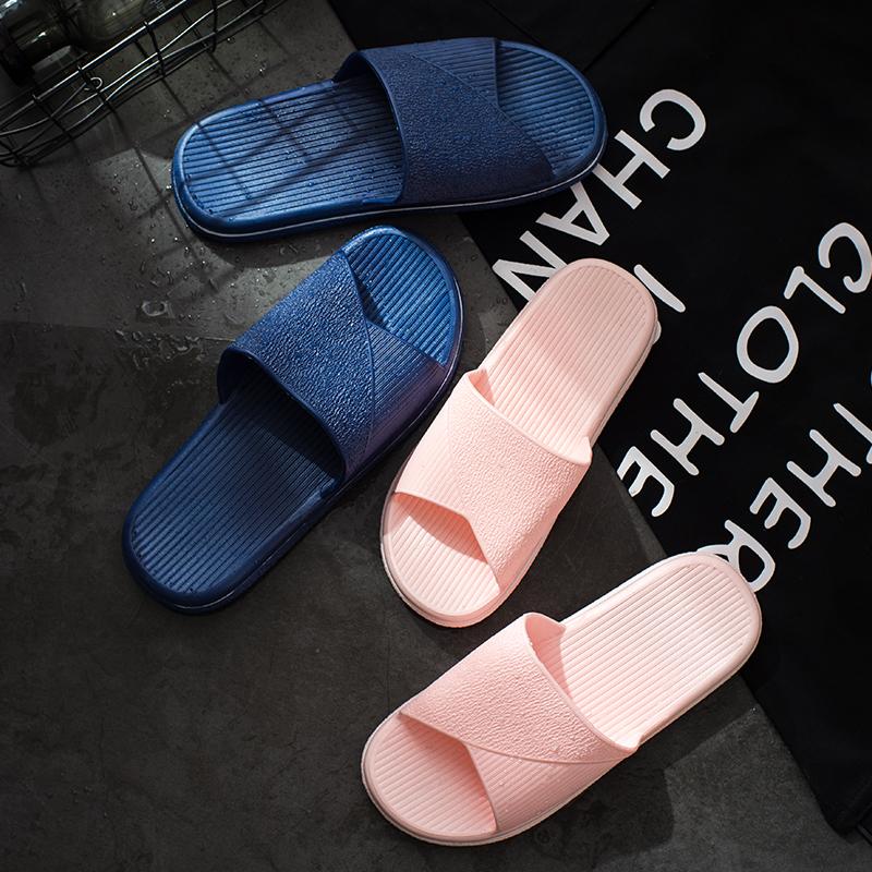 拖鞋女夏室内家居浴室夏季韩版防滑男士塑料凉拖软底居家小码家用