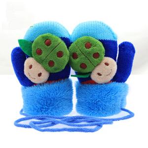 冬季儿童手套卡通可爱小公主加厚保暖宝宝手套1-3-6-10岁男女童戴