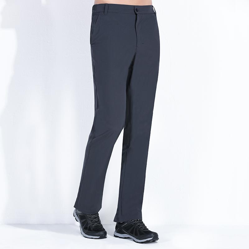 TFO速干裤男夏季薄款透气弹力运动长裤女户外登山裤黑色快干裤子