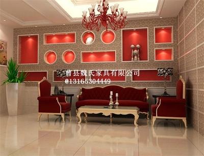 影楼化妆台带灯影楼家具接单桌椅收银台吧台选片桌椅接单沙发组合