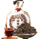 Top Pu tea 500 g Yunnan Pu'er tea cooked tea loose tea palace Pu'er old tea Brown Mountain ancient tree tea bulk