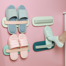 Toilet slipper rack wall-mounted receptacle rack toilet bathroom wall without punching toilet shoe rack