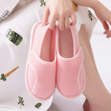 咕羊羊月鞋秋包 with postpartum non-slip maternity shoes thick bottom breathable summer thin section pregnant women slippers