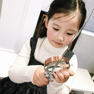 宝贝小象童装定制 秋冬新款儿童连衣裙中小女童蓬蓬公主裙子冬