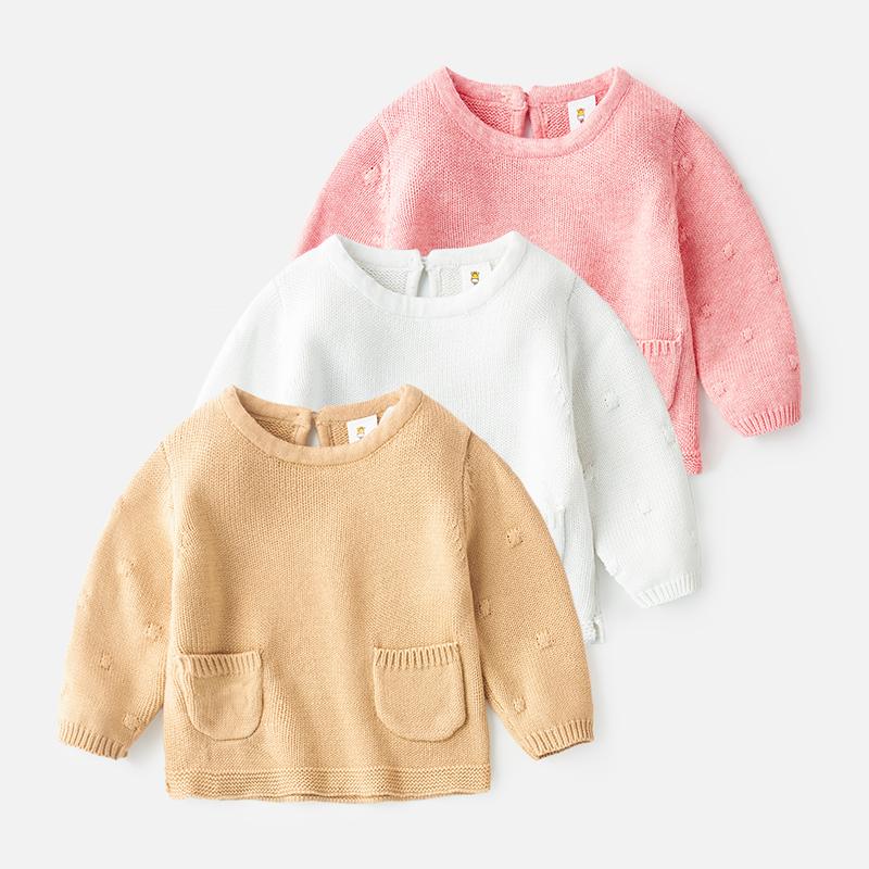 婴儿手工编织毛衣