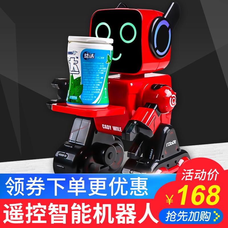 会跳舞的机器人小胖智能玩具儿童对话益智早教遥控机器人电动男孩