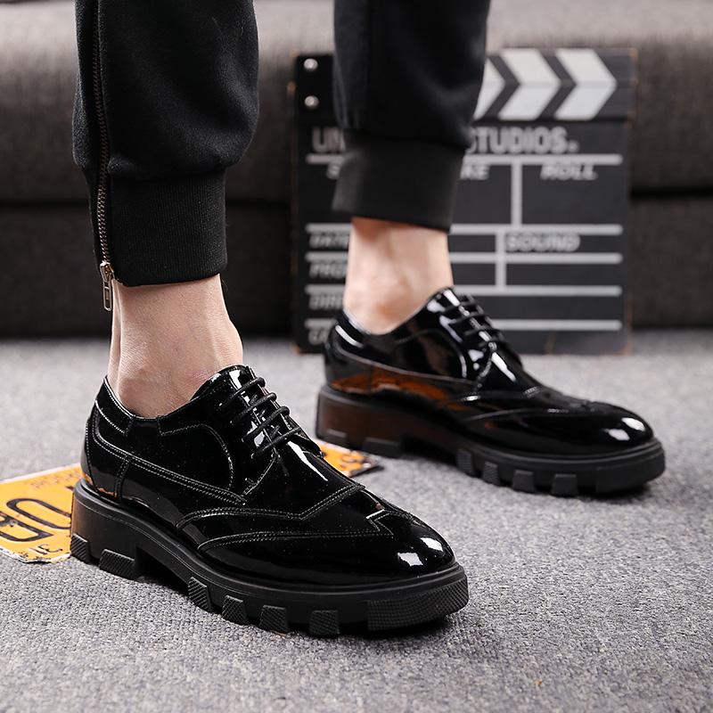 男鞋厚底高