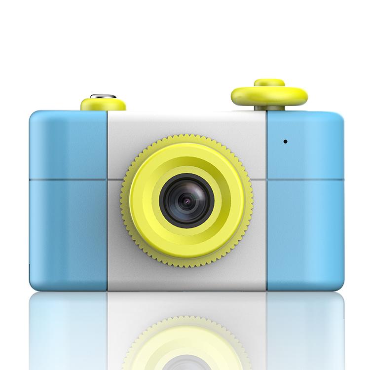 新佰 H2儿童数码照相机趣味玩具仿真复古单反卡片创意可爱小小摄影家微型摄像机生日礼物