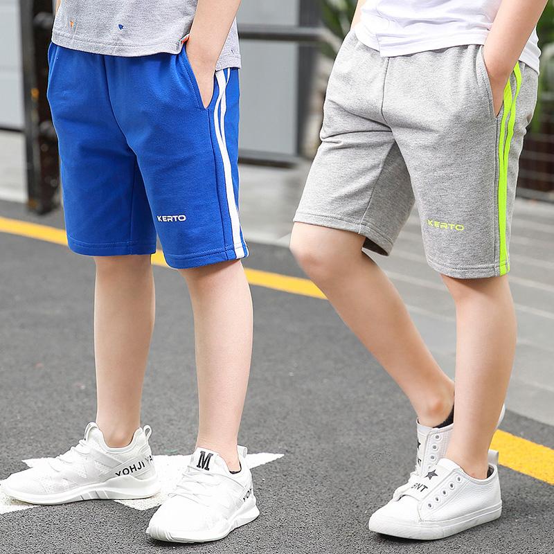 童装男童宽松短裤子夏季儿童薄款纯棉五分裤中大童运动休闲裤韩版