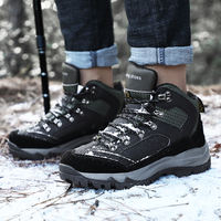 Bigfoot wolf electric shoes men's lithium rechargeable hot shoes electric warm foot treasure winter warm heating mountaineering can walk