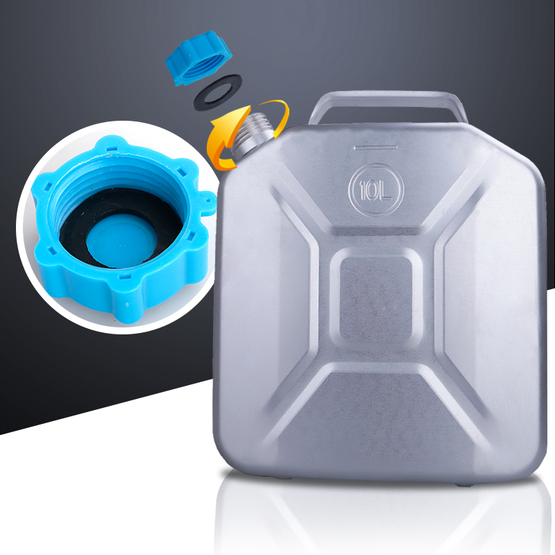 加厚铝制汽油桶铝油桶30升20升10升柴油桶防爆加油桶汽车备用油箱