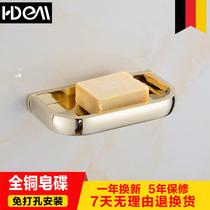 壁挂式香皂置物架免打孔皂盒个姓创意卫生间双层沥水肥皂香皂盒