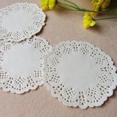 白色蕾丝花边垫纸油炸食品吸油纸蛋糕面包花底纸小吃碟垫纸