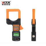 Victory VC7300/VC7300A three-phase clamp power meter digital phase multi-function large-diameter three-phase clamp table