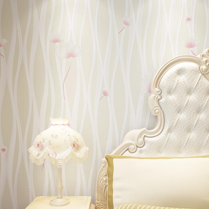 蒲公英粉红色墙纸