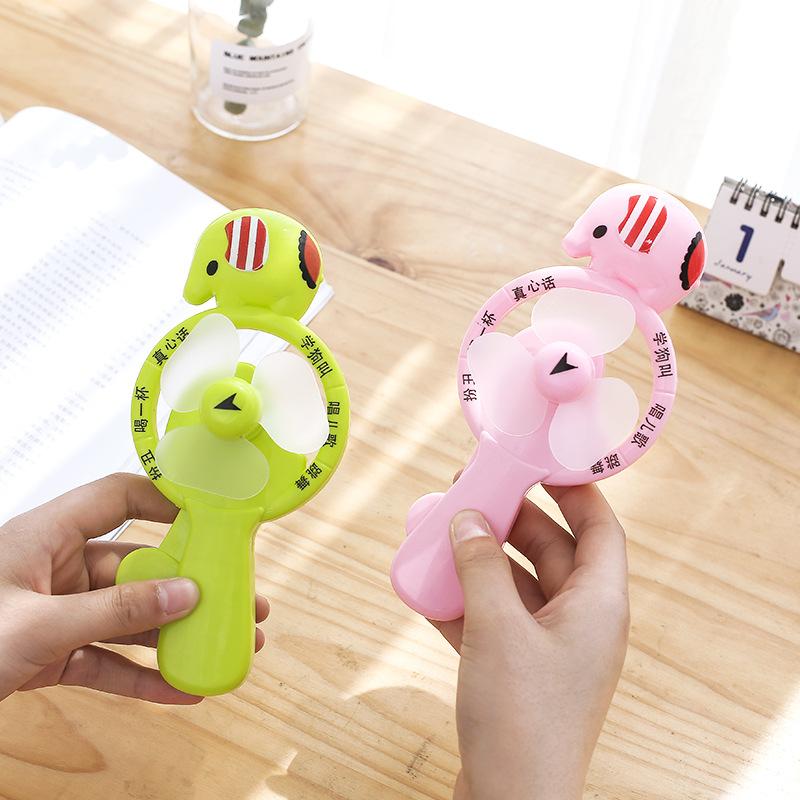 手压风扇儿童手摇便携式随身小风扇学生手动迷你手持玩具电风扇