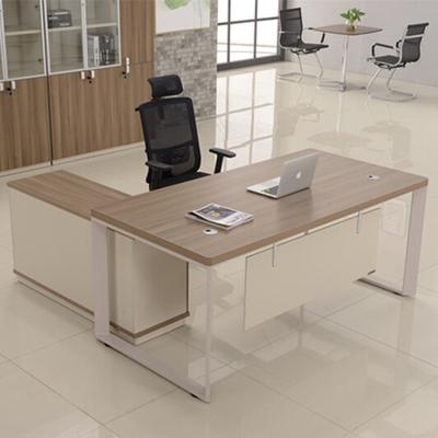 伟豪家具 1.8米经理台办公桌简约现代1.6米钢架主管办公台中班台专卖店