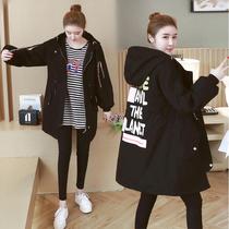 2018新款冬装棉衣女宽松200斤大码韩版胖妹妹学生bf加厚棉服外套