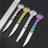 Factory direct lock-free key knives Mini folding portable knives Outdoor knives Portable gift knives