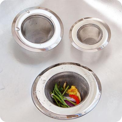 厨房水槽过滤网不锈钢洗碗池隔渣网漏水槽塞通用排水口残渣过滤网特价