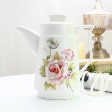 凉水壶 陶瓷家用水壶耐高温冷水壶 耐热大号茶壶凉水杯大容量欧式