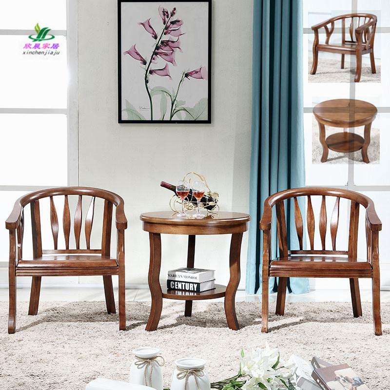 橡木单人沙发椅
