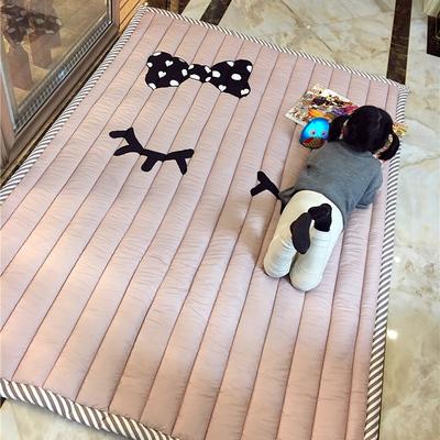 儿童家用爬行垫加厚婴儿客厅宝宝防摔爬爬垫可折叠游戏地毯地垫子