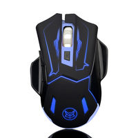 Icefox silent mute wireless charging mouse computer laptop esports no light saving unlimited gaming mouse