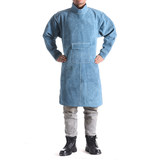 Psoriasis welding clothing welding clothes anti-hot anti-hot anti-radiation arc welding wear-resistant labor protection clothing around