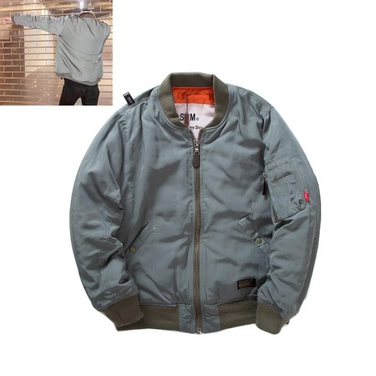 冬季代购空军飞行棉服MA1加厚羽绒棉衣情侣棒球夹克外套男女