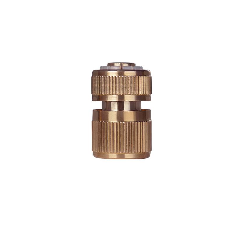 四分水龙头多功能万能接头洗车水枪水管软管快速连接器4分铜快接
