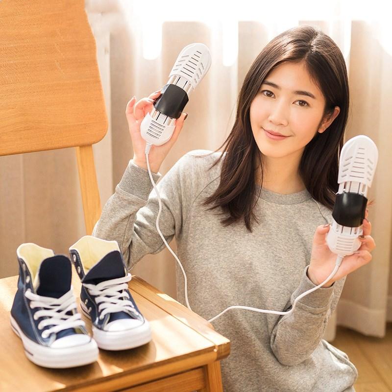 智能鞋子男鞋干鞋器宿舍直插版烘干器儿童学生定时版小号伸缩便携