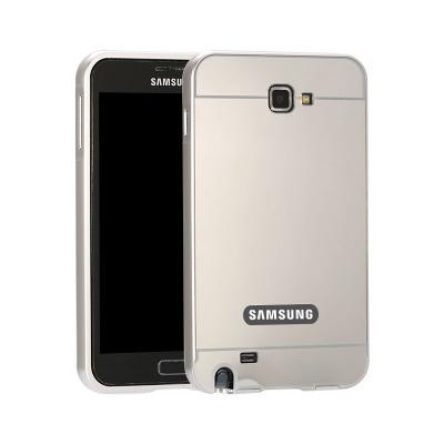 三星I9220手机套i9228手机壳N7000金属边框后盖 NOTE1镜面外壳女