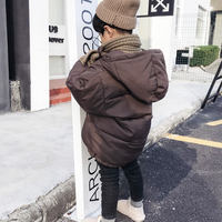 Boys cotton clothes 2018 new Korean version of the thickening of the winter clothing boy baby cotton jacket children down jacket coat