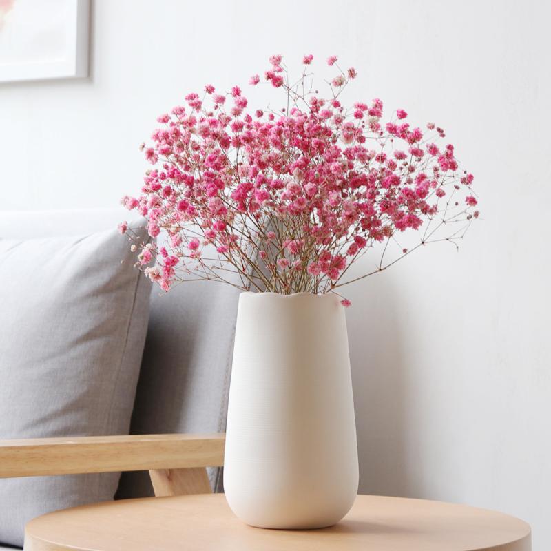 口陶瓷花瓶