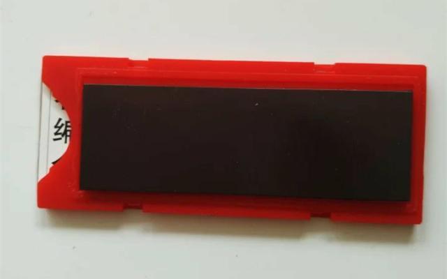 货架配件磁性标签卡牌仓库材料卡强磁贴货位识别卡标牌价格数字