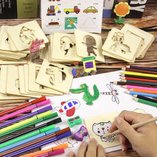 painting set tools kindergarten pupils beginner graffiti painting