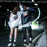 秋季棒球服男韩版运动外套春装嘻哈外套潮流宽松情侣装飞行员夹克