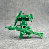 Children's transformer toy gun into diamond small pistol transformation puzzle transformation machine armor